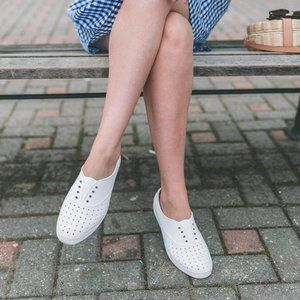 Native Jericho Rubber Slip On Perforated Shoes 6
